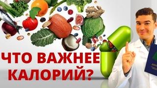 Калорийность рациона VS Биологическая ценность питания. Метаболический синдром лечение диетой.