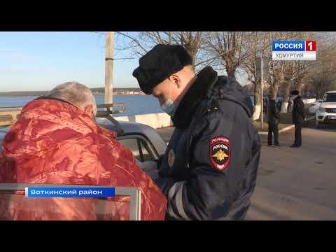 Во время рейда сотрудники ГИБДД поймали подростков на автомобиле