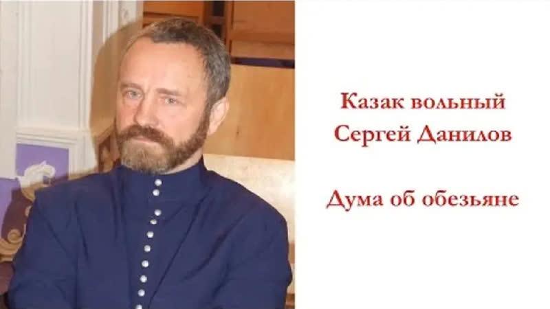 2 Сергей Александрович Данилов Дума об обезьяне 2012 12