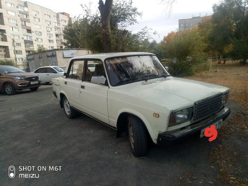 Купить, обмен,  ваз 2107,1998г состояние   Объявления Орска и Новотроицка №9809