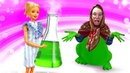 Видео про Барби. Баба Маня сварила зелье для Куклы Барби и стала лягушкой! Как Барби ее вернуть!
