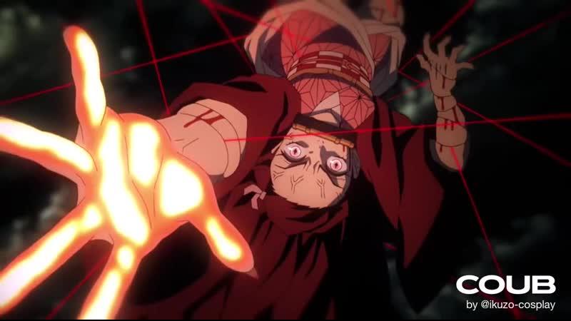 Demon Slayer Nezuko Cosplay Cinematic 鬼滅の刃 竈門禰豆子 kimetsu no yaiba 富士コス