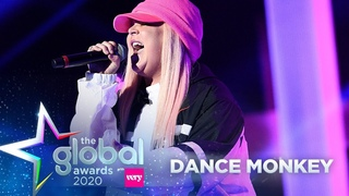 Tones and I - 'Dance Monkey' (Live at The Global Awards 2020)   Capital