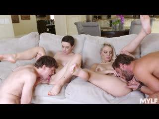 Olive Glass, Kenzie Taylor - Stepmoms Arrangement [All Sex, Hardcore, Blowjob, Gonzo]