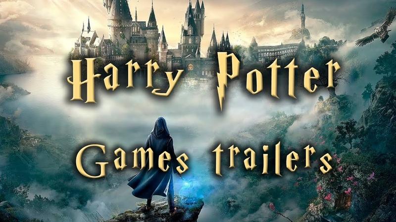 Harry Potter Games Trailers Compilation 2001 2021 Трейлеры серии игр о Гарри Поттере Собрание