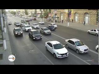 Пьяный угонщик устроил массовое ДТП в центре Волгограда