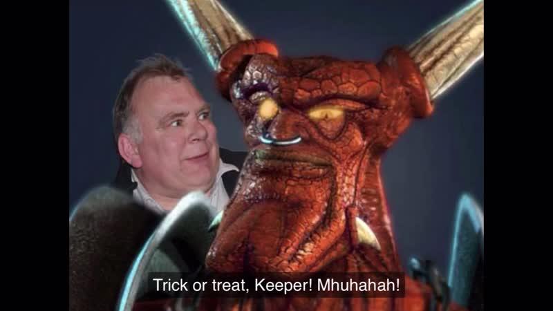 Trick or treat keeper))