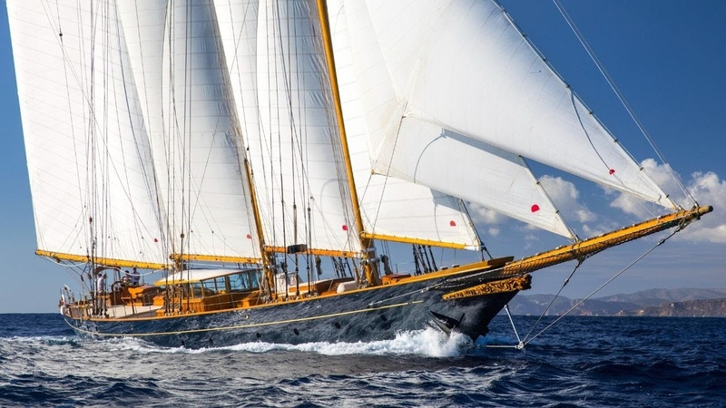 SY SHENANDOAH OF SARK | 54.4m Townsend-Downey 3 Mast Gaff Topsail Schooner - Classic yacht for sale
