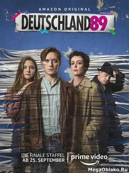 Германия (1-3 сезоны: 1-26 серии из 26) / Deutschland 83, 86, 89 / 2015-2020 / ПМ (AlexFilm) / WEB-DLRip