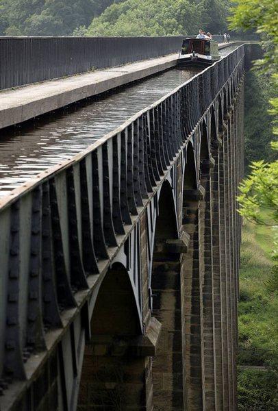 Великобритания. Уэльс. Акведук Понткисиллте, изображение №8