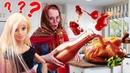 Видео про игры в куклы Барби. Баба Маня заляпала диван Барби! Игры в экстремальную готовку