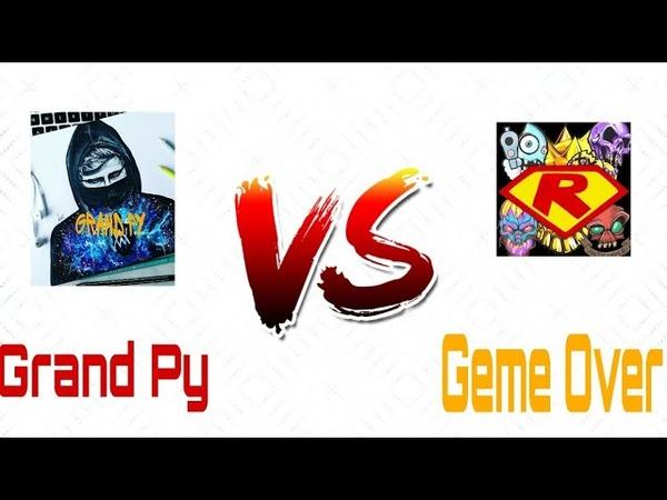 Grand Py VS Geme Over Битва Ютуберов Standoff 2