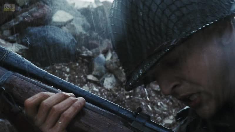Снайпер убивает Капарзо Спасти рядового Райана Saving Private Ryan 1998 Фрагмент из фильма