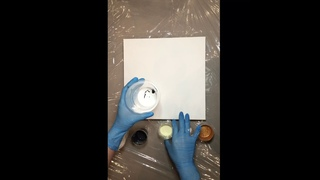 Флюид Арт ( Fluid Art) акриловая заливка в технике «Dirty Pour»