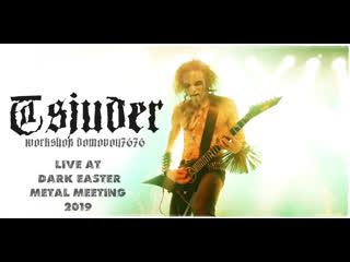 TSJUDER - Live at Dark Easter Metal Meeting 2019