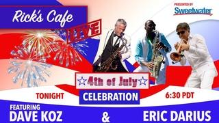 Rick's Cafe Live (S2 E6) - 4th of July Celebration (ft. Dave Koz & Eric Darius)