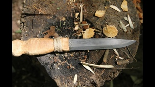 Как сделать рукоять для ножа своими руками I Философия рукояти для бушкрафт ножа