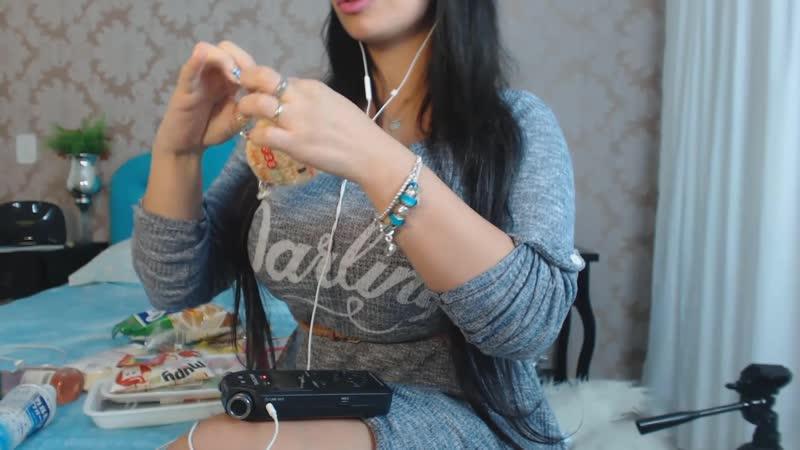 ASMR Comendo Docinhos