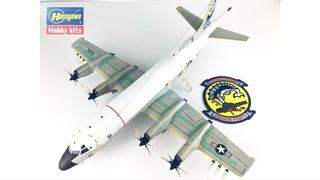 FULL BUILD HASEGAWA 1/72 LOCKHEED P-3C ORION