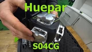 Обзор 4D лазерного нивелира Huepar S04CG. Новинка 2020 года с пультом и зарядкой от смартфона.