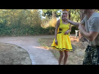Hannah Hawthorne - OnlyFans - Pikachu Caught Doing Anal ## blonde teen cosplay homemade sex porn