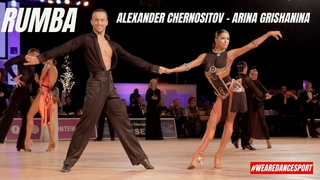 Alexander Chernositov - Arina Grishanina    Rumba   Dutch Open 2019   AM LAT