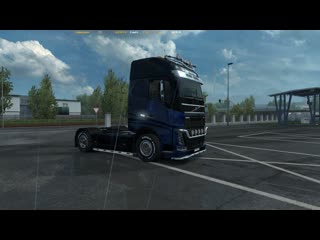 Euro Truck Simulator 2. Рейс 084. FH Tuning Pack. Volvo