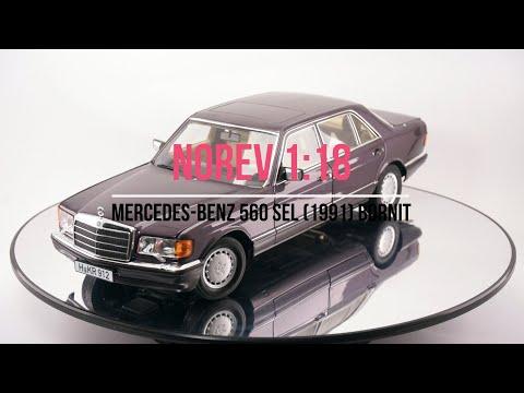 Norev 1 18 Mercedes Benz 560SEL W126 1991 Bornit