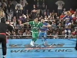 Gran Hamada, Masato Yakushiji & Great Sasuke vs.  Dick Togo, Taka Michinoku & Terry Boy -  (ECW Barely Legal)