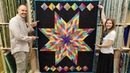 FREE PATTERN One Jelly Roll = Lone Star Quilt!