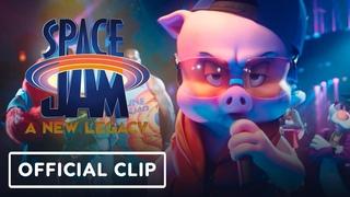 "Space Jam: A New Legacy - Exclusive ""Porky Pig Rap"" Clip (2021) LeBron James, Don Cheadle"