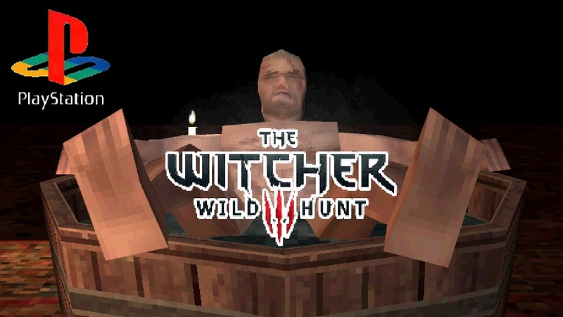 The Witcher 3 but it's for PS1