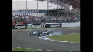 F1 Silverstone 1995 - Michael Schumacher vs Damon Hill