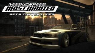 Need For Speed Most Wanted BETA Content Mod #6