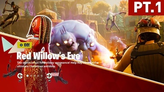 FORTNITE SAVE THE WORLD RED WILLOW'S EVE VOICE DIALOGUE PT1(XBOX SERIES X)