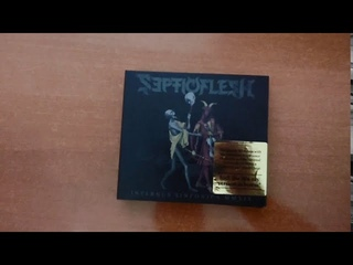 SepticFlesh : INFERNUS SINFONICA MMXIX - unboxing 2CD + BLUE RAY 2020