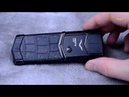 Копия vertu signature s design pure black обзор