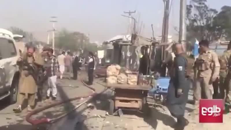 Конвой с вице президентом Афганистана подорвали в Кабуле