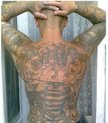 Фото татуировок купола на спине смотреть можно лент