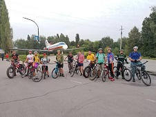 На велосипеде по гранту президента