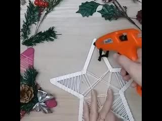 Создаем новогодний декор