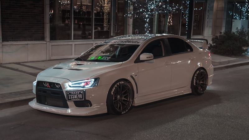 ISSAEVO Eric's Lowered Wicked White Evo X GSR 4k