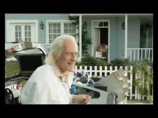 Mini Doc Brown - Delorean #BTTF - Publicidad Día de la Madre 2011:  El Futuro está en Garbarino