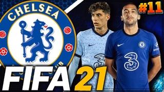 FIFA 21 ⚽ КАРЬЕРА ЗА ЧЕЛСИ |#11| - ПУШКА СТРАШНАЯ