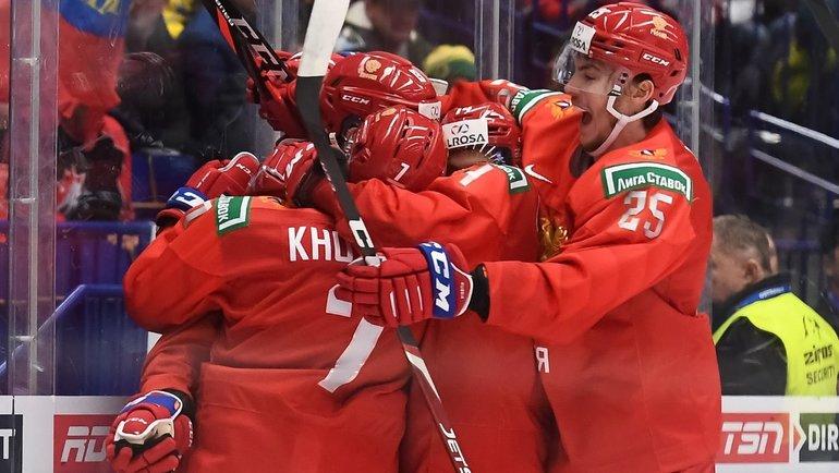 Россия вырвала победу у Швеции в овертайме полуфинала МЧМ по хоккею (Видео)