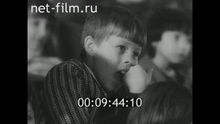 Открытие нового здания ТЮЗ. Вологда, 1980 год