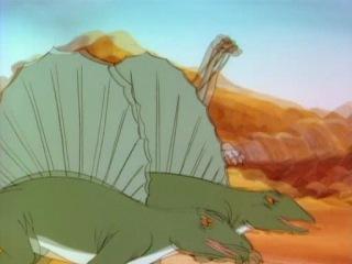 Dino Riders Наездники динозавров s1e2