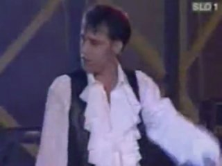 Bad Boys Blue - Queen Of Hearts / Lady In Black (отрывок)  (SLO 1, Live 1995)
