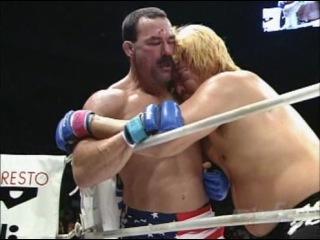 Один из самых жёстких боёв mma don frye vs. yoshihiro takayama