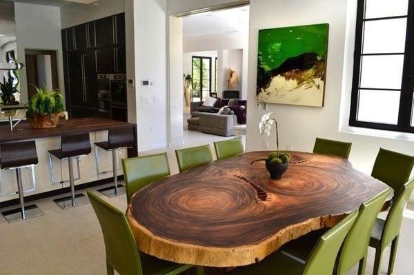 Необычный кухонный стол